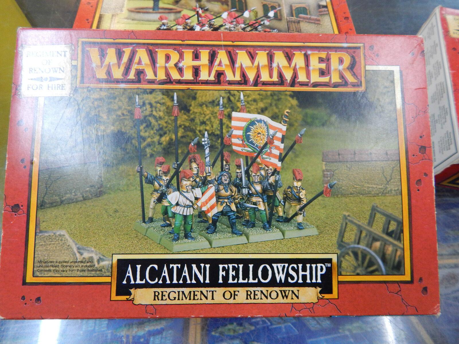 Games Workshop Perros De Guerra alcanani Fellowship Set En Caja