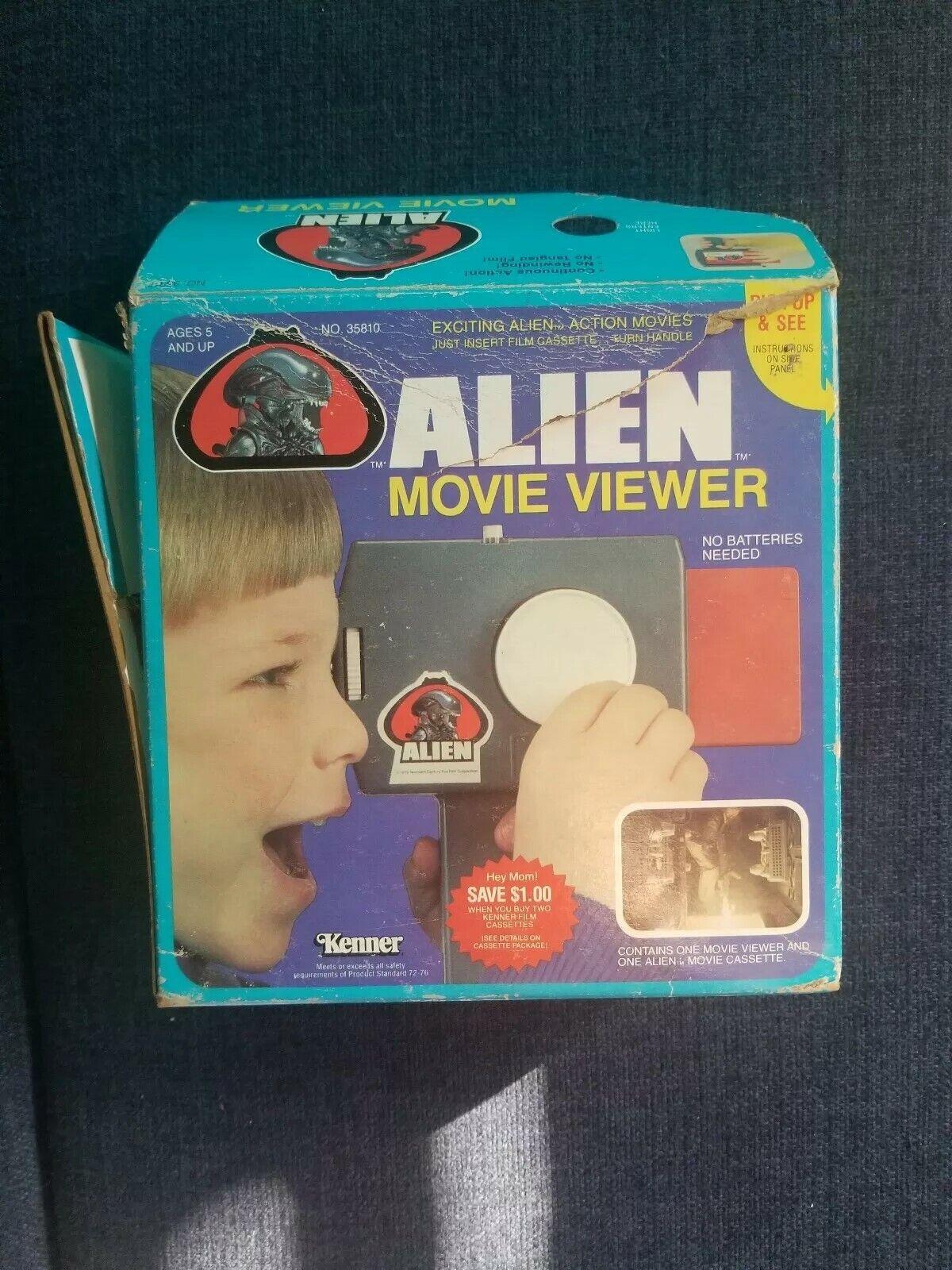 1979 Alien Kenner movie viewer vintage