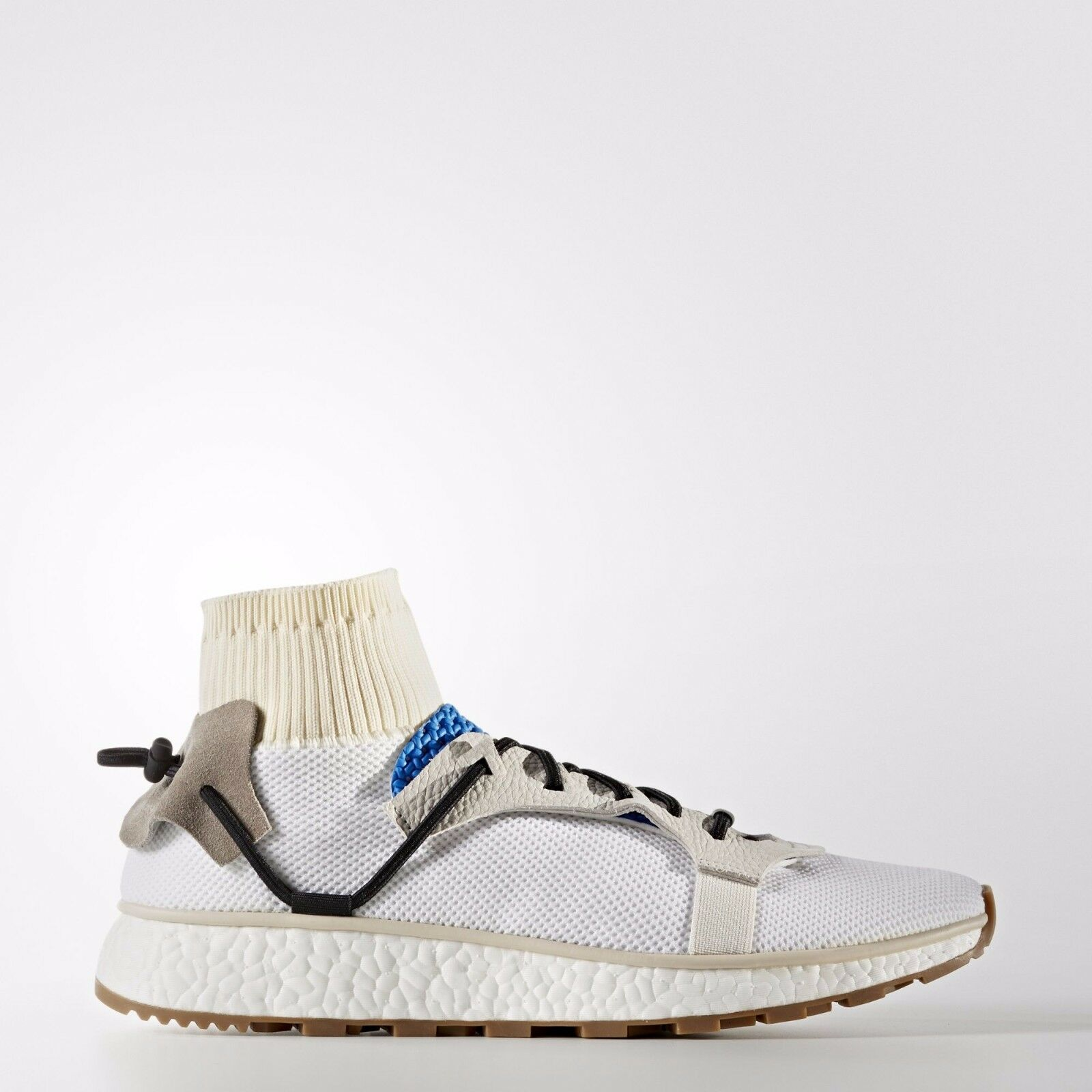 AW Run size 9.5. White Blue. Adidas X Alexander Wang. CM7827. ultra boost NMD