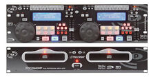 Pyle PDCD940MP Professional Dual CD/MP3 Player w/ Scratch Effect