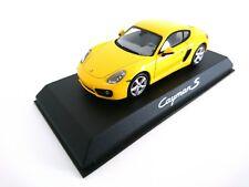 Porsche Cayman S Speed Yellow Wap0200310d Brand New Norev 1:43
