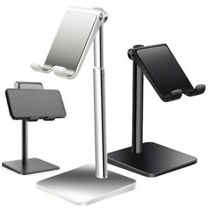 Universal Cell Phone Tablet Desktop Stand Holder Mount Desk Adjustable Foldable