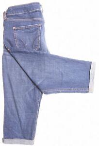 Hollister Para Mujer Pantalones Cortos De Mezclilla W26 Azul Algodon Ip17 Ebay
