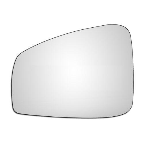 Left Hand Passenger Side Renault Laguna 2007-2018 Convex Wing Door Mirror Glass