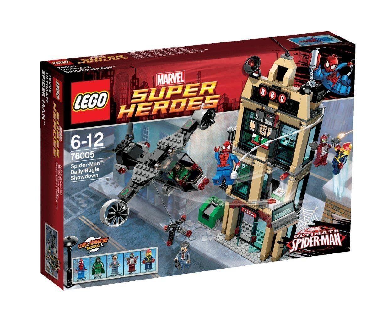 LEGO® Marvel Super Heroes 76005 Spider-Man™  Einsatz am Daily Bugle NEU OVP