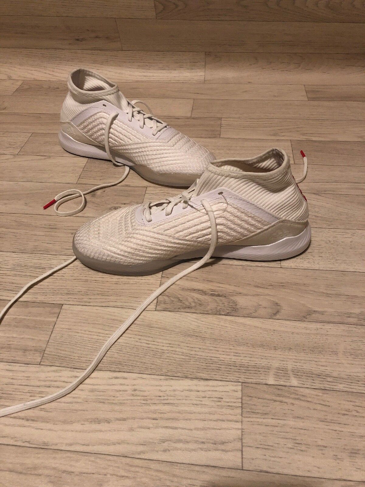 ADIDAS PREDATOR TANGO 18.3 INDOOR BOOTS WHITE LIMITED EDITION White Out