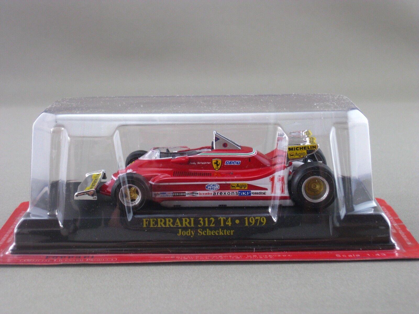 Ferrari 312 T4 JODY SCHECKTER 1979 hachette 1 43 Diecast Model Car Vol.21