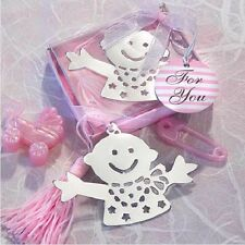 ♛ Shop8 : 1 pc BABY GIRL BOOKMARK CHRISTENING GIVEAWAYS SOUVENIR Gift Ideas