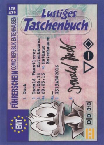 85 Jahre Donald Duck Kollektion alle Sticker und Trading Karten Einzelauswahl DE