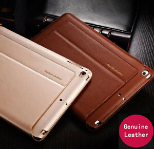 Luxury-Genuine-Leather-Case-Smart-Auto-Sleep-Cover-For-iPad-mini-Air-1-2-3-4-Pro