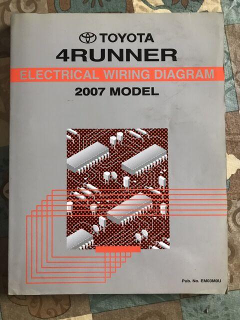 2007 Toyota 4runner Service Repair Manual Electrical