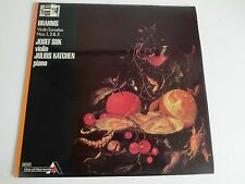BRAHMS Violin Sonatas 1,2,3 Josef Suk/Julius Katchen UK LP