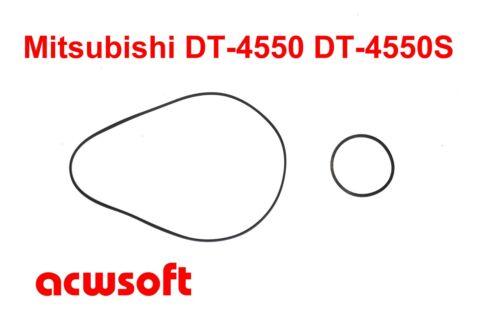 Riemen Belts for Mitsubishi DT-4550 DT4550 DT-4550S DT4550S  Tapedeck
