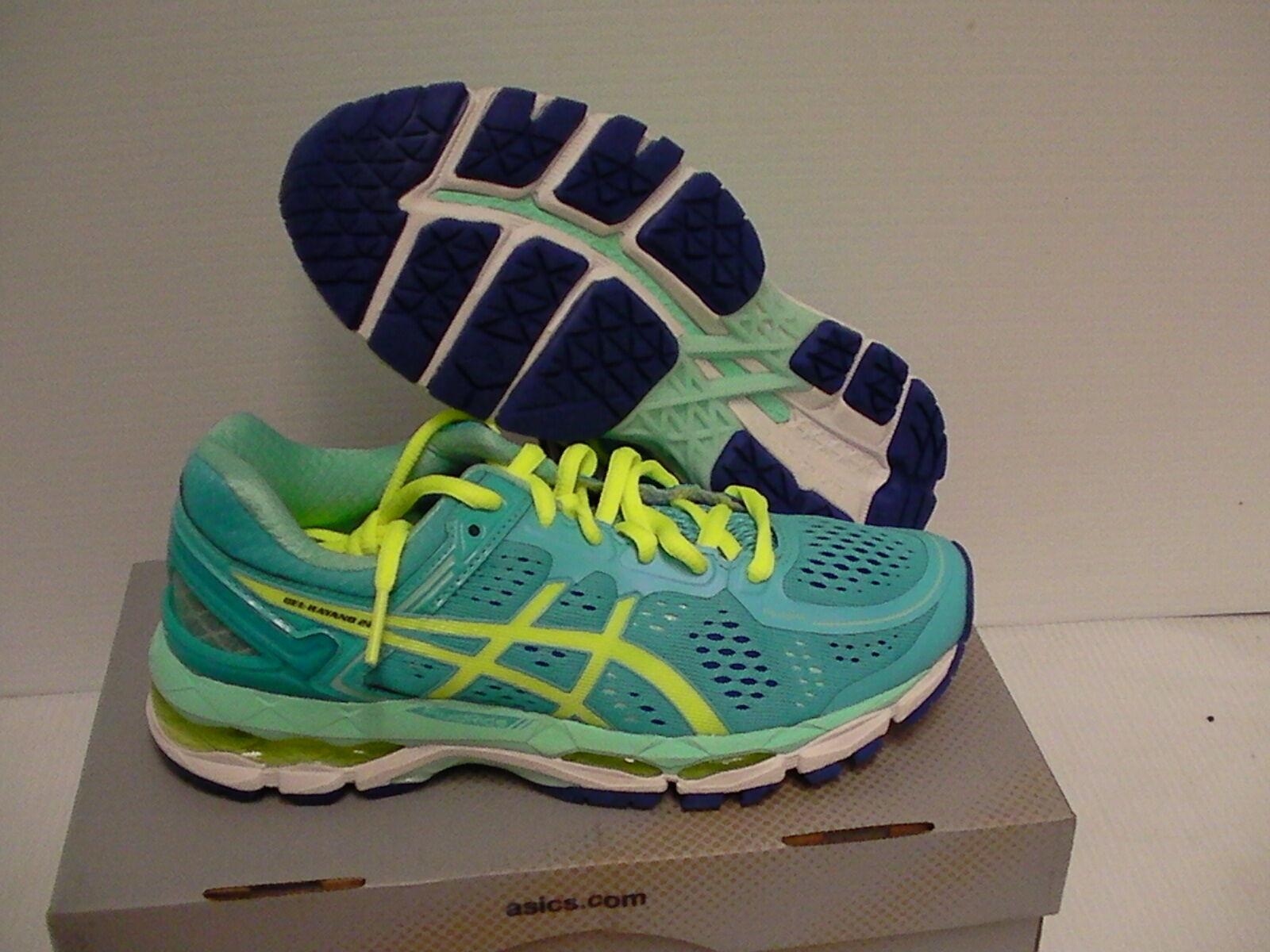 Asics women's running shoes gel kayano 22 ice blue flash blue size 6.5 Brand discount