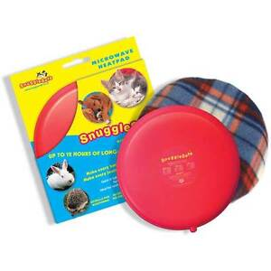 Image Is Loading Snugglesafe Microwave Pet Heat Pad With Cover