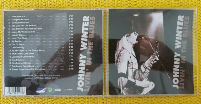 Johnny Winter ‎– Livin' In The Blues #244 - CD: sehr gut