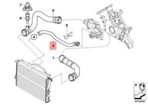 BMW-Alpina-V8-E39-E52-535i-Engine-Thermostat-Water-Hose-11531711377-GENUINE-NEW