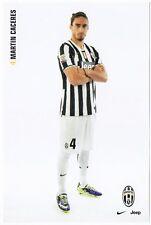 Cartoncino Juventus – Martin Caceres