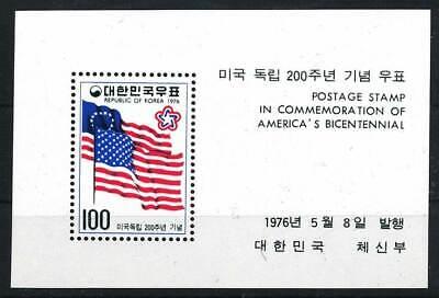 Briefmarken Asien 285723 Korea Süd Block 415** 200 Jahre Usa Starke Verpackung