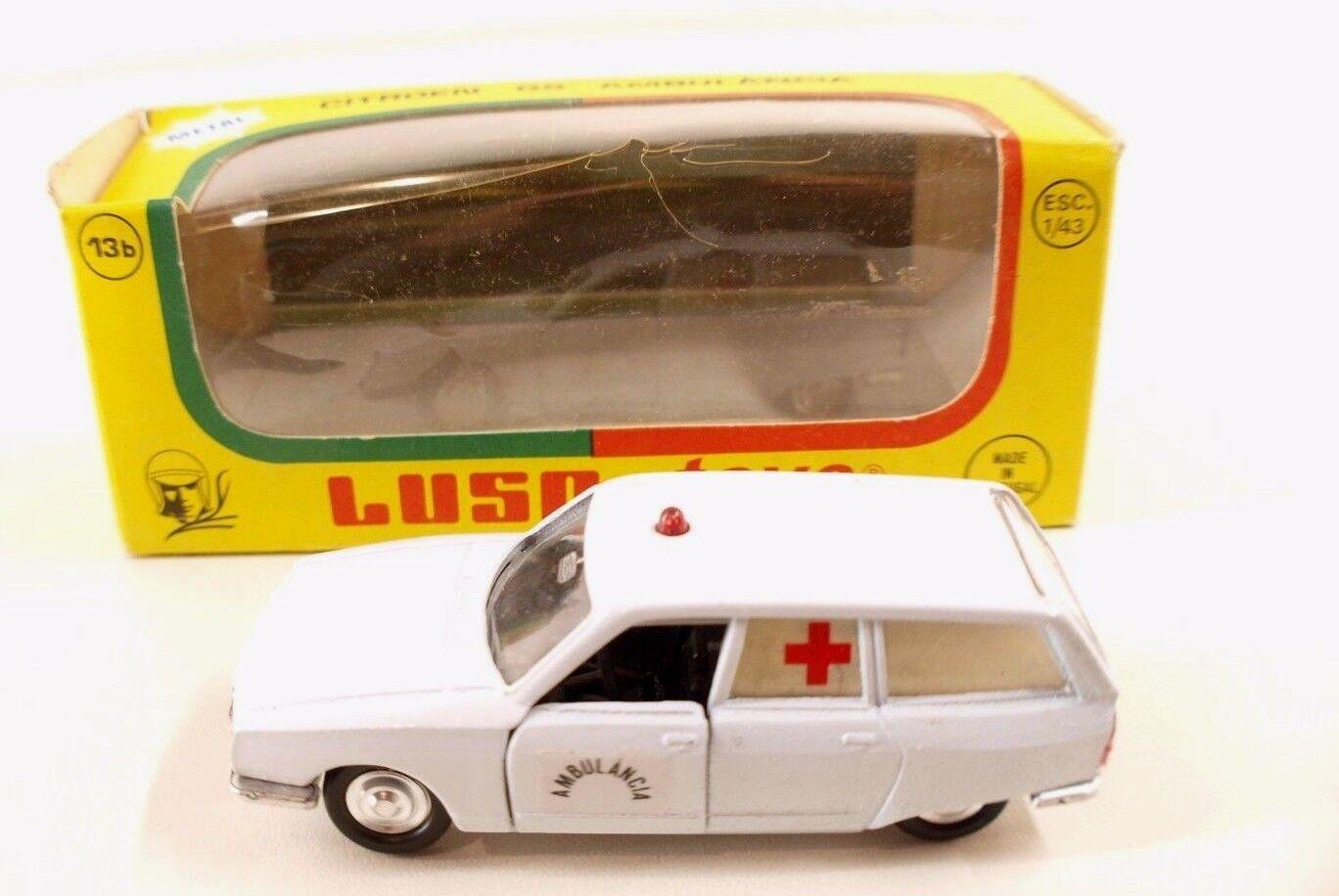 Luso Toys M13b Citroën GS Break Pallas Ambulancia ambulance neuf mint  Rare