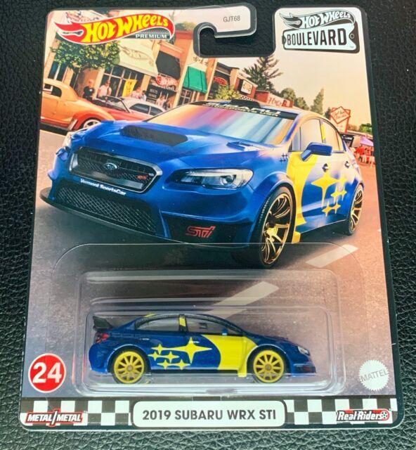 Hot Wheels 2021 Boulevard 2019 Subaru WRX STI A1 for sale online