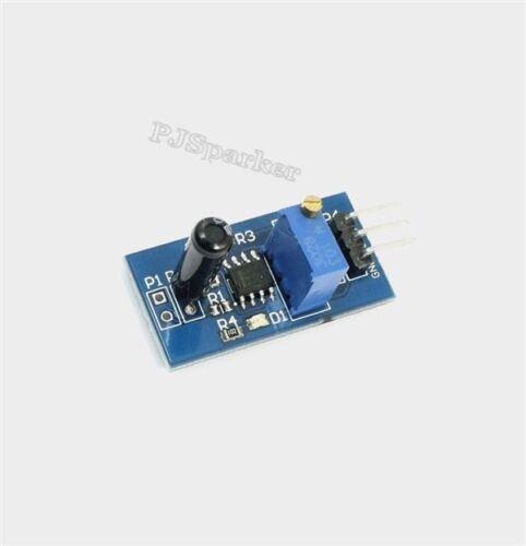 5Pcs Sensor Module 3V-5V Vibration Switch Intelligent Car Accessories LM393 I ok