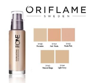 Oriflame the one everlasting foundation 30ml new ebay image is loading oriflame the one everlasting foundation 30ml new stopboris Gallery