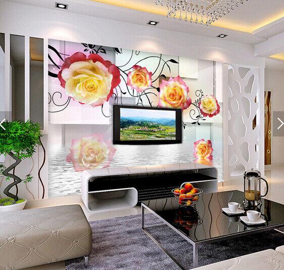 3D Raum Blumenkunst 698 Tapete Tapeten Mauer Foto Familie Tapete Wandgemälde DE