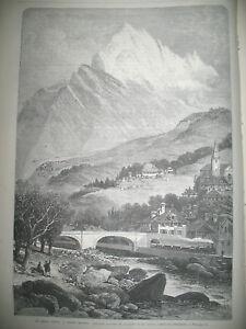 SAVOIE-LE-MONT-CENIS-TRAIN-STATION-SAINT-MICHEL-ISTHME-DE-SUEZ-GRAVURES-1869