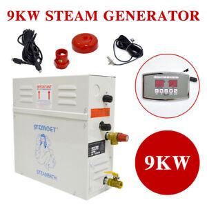 Image Is Loading 9KW Steam Generator Shower Sauna Bath Home Spa