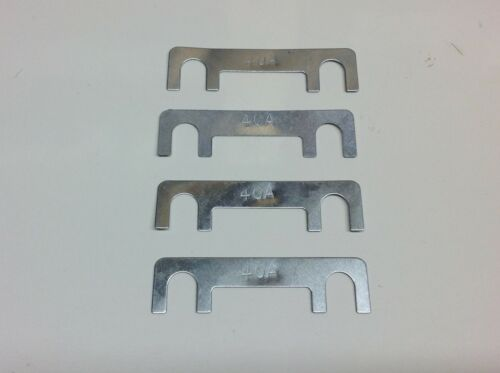 4 X 40amp Tiras enlace Fusibles