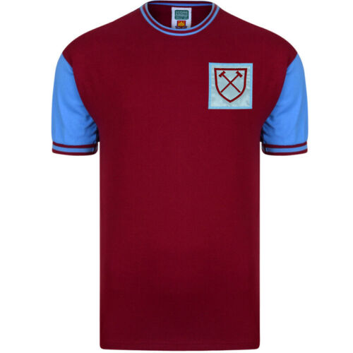 West Ham 1966 No 6 Retro Football Shirt