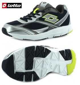 Scarpe-LOTTO-EASERUN-Running-ginnastica-sportive-trainer-Ecopelle-e-mesh