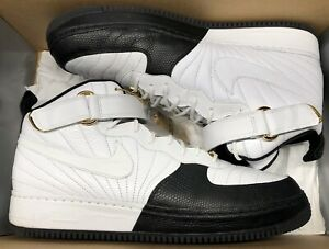 Details about Nike Air Force 1 Jordan Fusion AJF 12 AJF12 XII Black White Taxi Playoffs 13