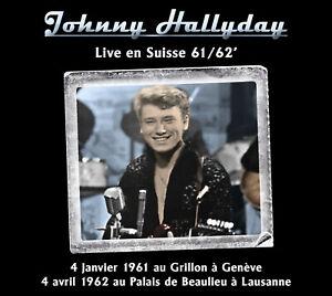 CD-Johnny-Hallyday-Live-en-Suisse-61-62-039-Digipack-limite-a-200-exemplaires