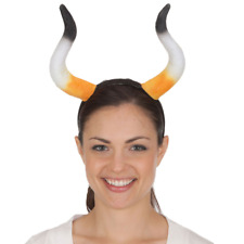 Adult Demon Viking Animal Bull Minotaur Halloween Cosplay Costume Horns Headband