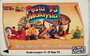 Malaysia-Used-Phone-Cards-Pesta-039-93-Malaysia