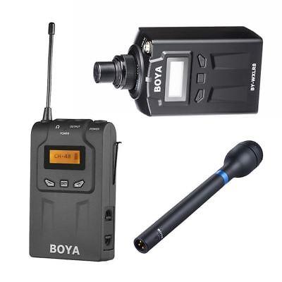 Boya By Wm6r By Wxlr8 By Hm100 Kit Wireless Microphone Audio
