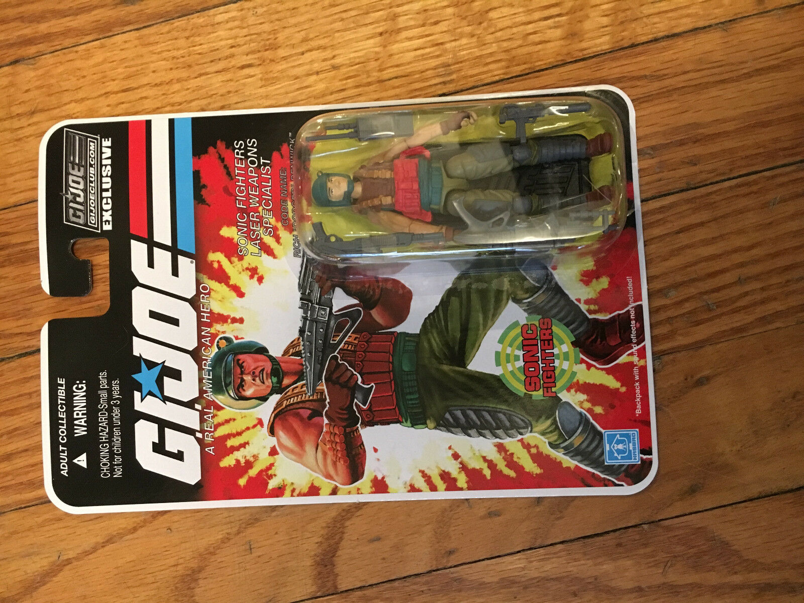 GI Joe CC Final 12 Sonic Fighters Dodger Hasbro 19 MOSC