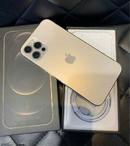 Good As New! Apple iPhone 12 Pro 256GB Gold - Factory Unlocked, Complete