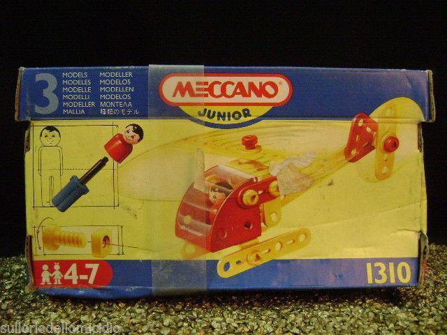 Meccano Junior Einleitung Box n°1310 Neu Verpackt Meta' Jahre 90