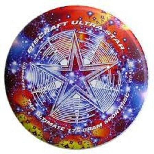 Novo Discraft Ultra-Star Colorido 175g Frisbee Disco-Starscape