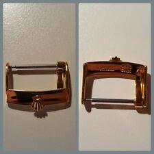 Chiusura fibbia Rolex in Oro, Gold buckle clasp hebilla 16mm 18mm 20mm