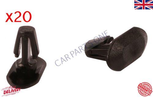 20X Weatherstrip Porte Caoutchouc Garniture Joint Clips CITROEN PEUGEOT RENAULT