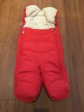 Stokke Xplory Footmuff Red Cosy Toes