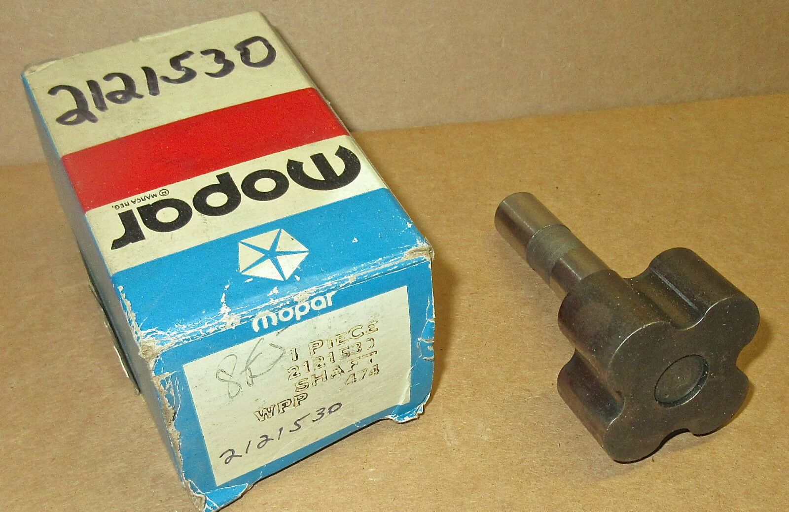 OIL PUMP DRIVE SHAFT INNER ROTOR N.O.S.W//273,318,340 ENG.IN 62-73 ALL MOPARS