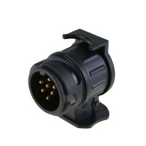 Auto-Anhaenger-Stecker-Adapter-12V-KFZ-13-polig-auf-7-polig-fuer-PKW-Anhaenger-Teil