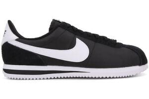 san francisco latest design detailed images Details about Nike Cortez Nylon Black White Men's Shoes Size 7.5 To 13 New  N Box 100% Original