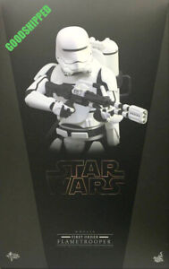 Hot Toys Star Wars:The Force Awakens MMS326 First Order Flametrooper SEALED