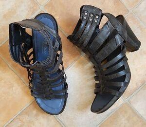 marco tozzi r mersandalen sandaletten mit 8cm absatz gr. Black Bedroom Furniture Sets. Home Design Ideas